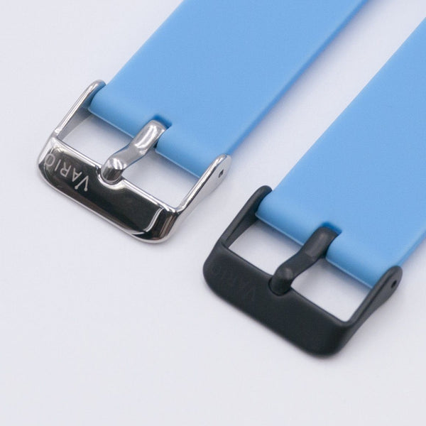 vario quick release silicone rubber watch strap