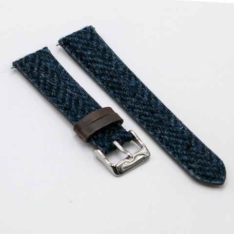 tali jam tangan herringbone vario harris tweed