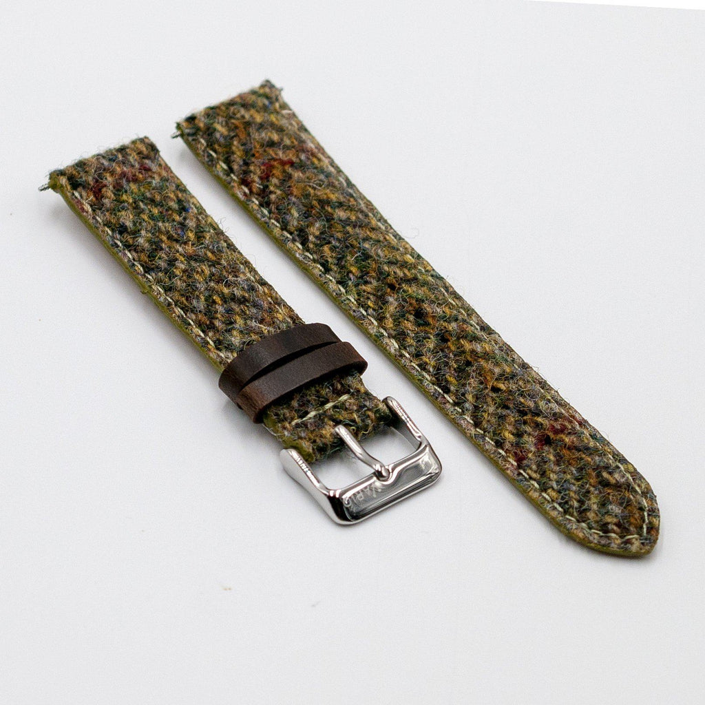 Harris Tweed Herringbone Pistazienarmband