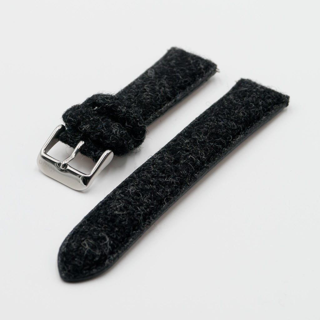 Correa de reloj Harris Tweed Coal Black