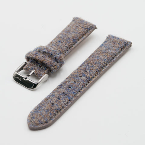 vario oatmeal brown harris tweed strap