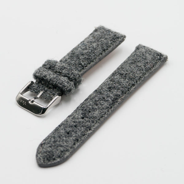 harris tweed grey strap