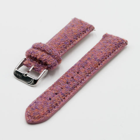 Vario Harris Tweed Bubble Gum Pink Watch Strap