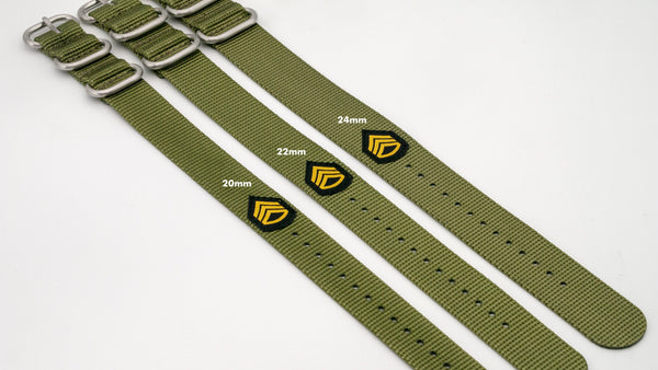 vario ballistic nylon watch band