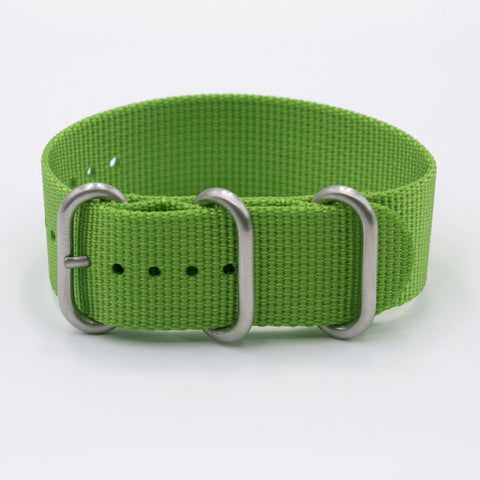 vario ballistic nylon shamrock green nato replacement strap band