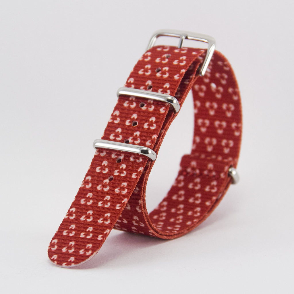 vario velvet trinity graphic nato strap vegan friendly