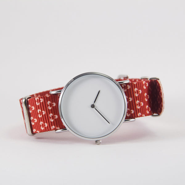 vario velvet trinity nato strap with watch
