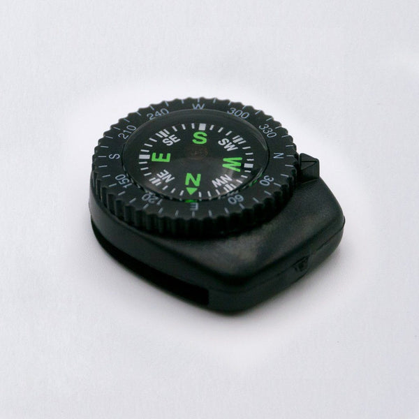 clip on mini compass for trekking