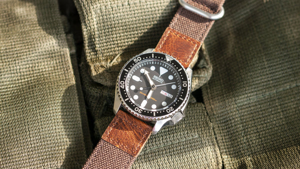 vario cordura oiled leather seiko