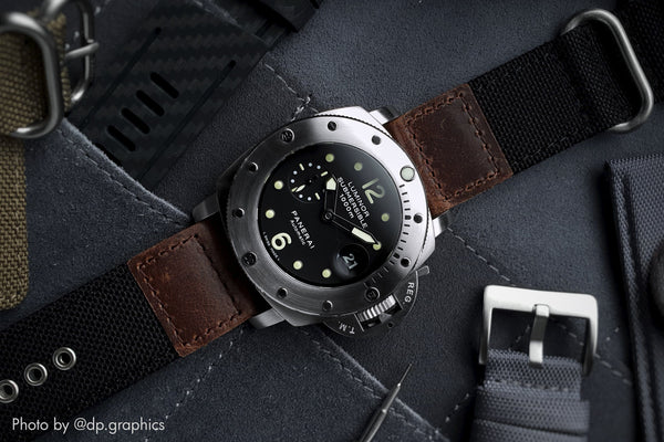 vario cordura oiled leather panerai pam