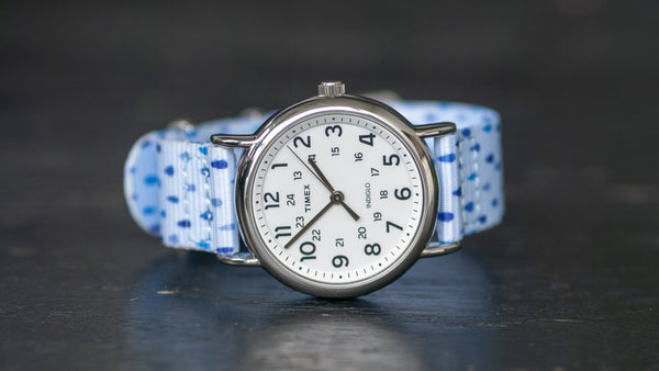 timex watch with raindrops nato strap band
