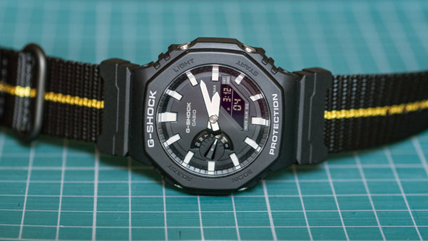 gshock ga2100 on vario adapter nato strap