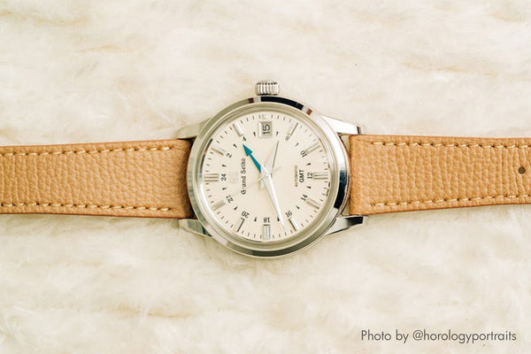 vario leather italian watch strap