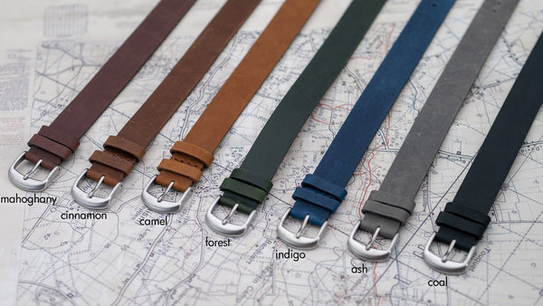 vario 1918 trench field watch leather watch straps