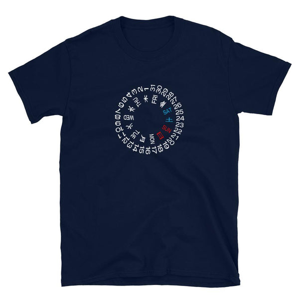 Horology T-Shirt — Japanese Day Date Wheel (Japanese)
