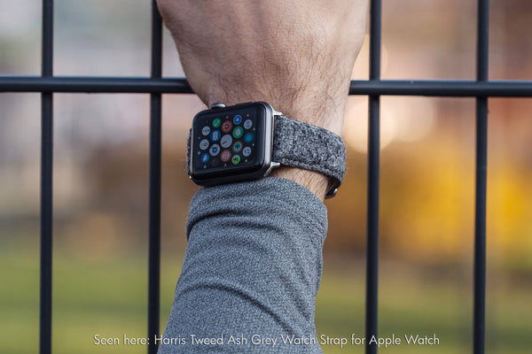 vario harris tweed apple watch