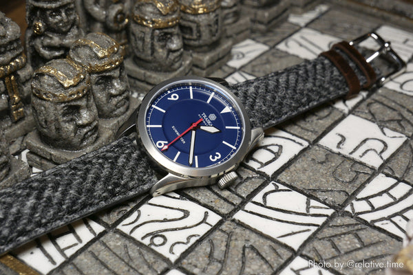 vario harris tweed watch band
