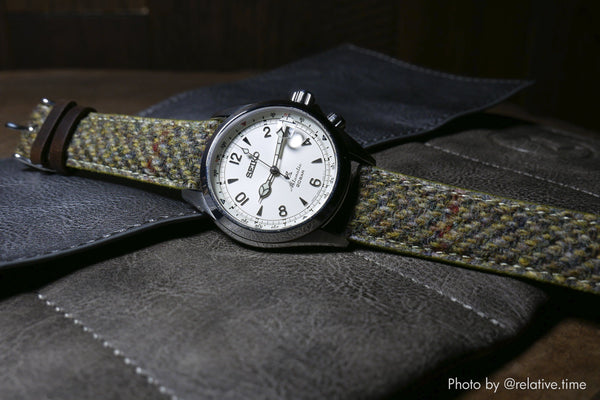vario harris tweed banda de reloj