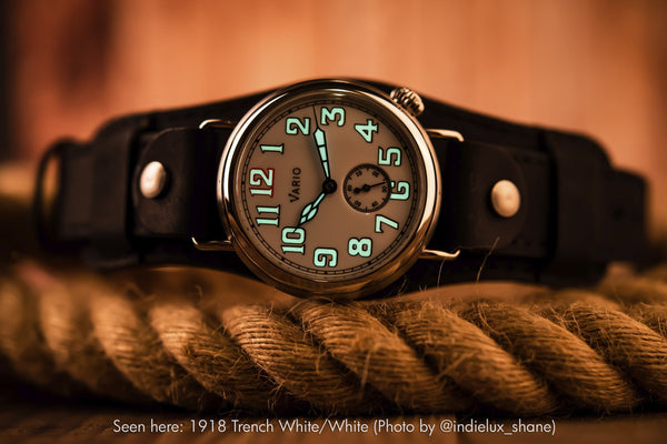 microbrand montre vario trench field