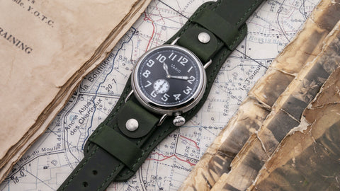 vario ww1 trench watch 37mm