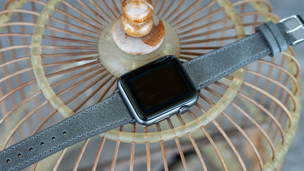 apple watch distressed leather band