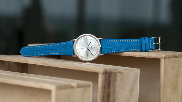 vario eclipse italian leather watch strap