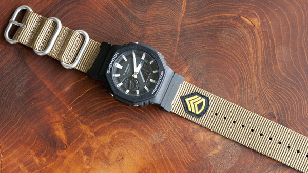 G-Shock Ersatz Nato Watch Strap Staff Sergeant