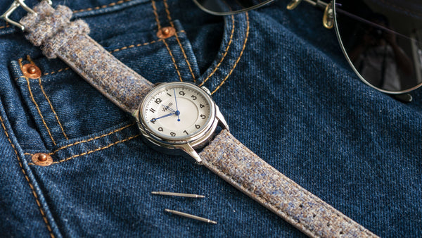 correa de reloj vario harris tweed