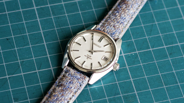 vario harris tweed horlogeband king seiko