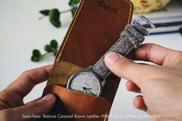 vario single watch pouch