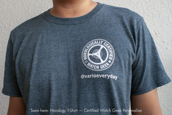 Vario Horology Uhr T-Shirts