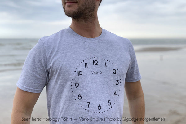 vario horology watch camisetas