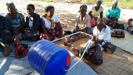 Using crowdfunding and community ownership to maximise the impact of Hippo Water Rollers in Mozambique