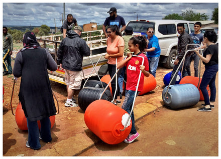Hippo Rollers for Operation Hydrate and the Swartruggens community