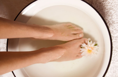 magnesium foot bath