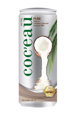 Coc'eau Coconut Milk 240ml x 24 cans