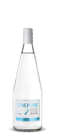 OnePure Sparkling Water - 750ml X 12 Glass Bottle