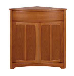 Shades Teak - Shaped Corner Base Unit