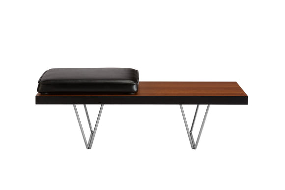 John and Sylvia Reid Compact Bench with leather Pad