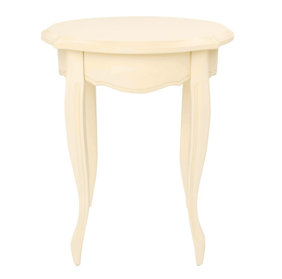 Provencale Ivory Round Side Table
