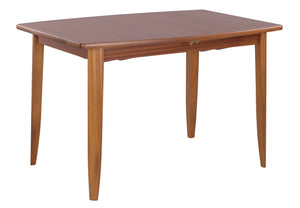 Classic Teak - Small Boat Shaped Dining Table on Legs