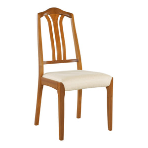 Classic Teak - Slat Back Dining Chair