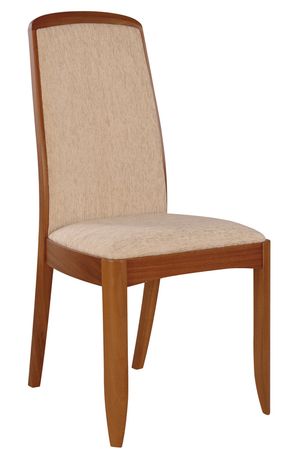 Classic Teak - Fully Upholstered Dining Chair