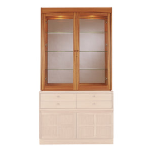 Classic Teak - Glazed Display Top Unit