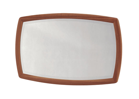 Occasionals Teak - Shaped Wall Mirror