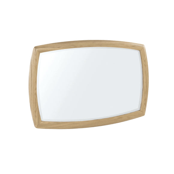 Occasionals Oak - Shaped Wall Mirror
