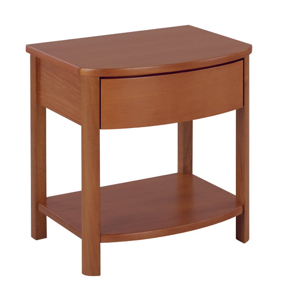 Occasionals Teak - Shaped Lamp Table