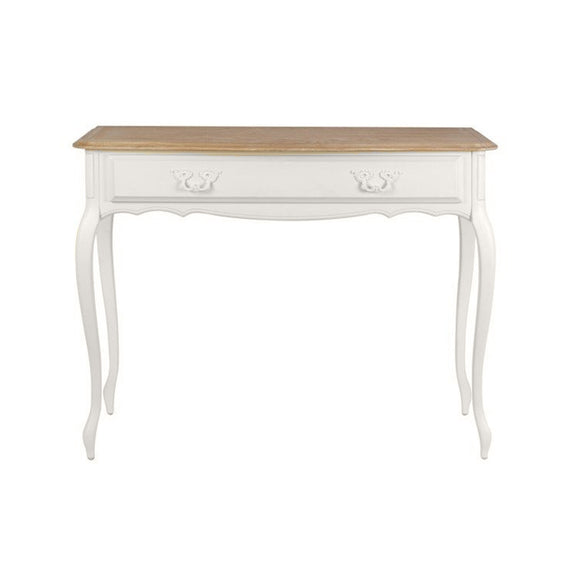 Provencale Oak and Dove Grey 1 Drawer Console Table