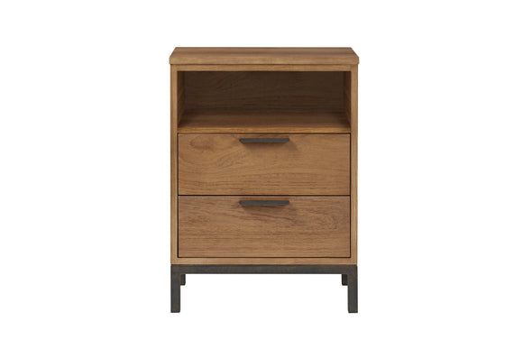 Palma 2 Drawer Open Top Bedside