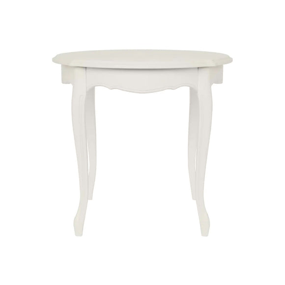 Provencale Dove Grey Round Side Table